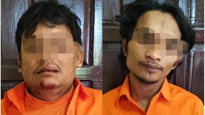 Kepergok Saat Beraksi, Dua Maling Baterai Mobil Diamankan Warga Kampar Riau