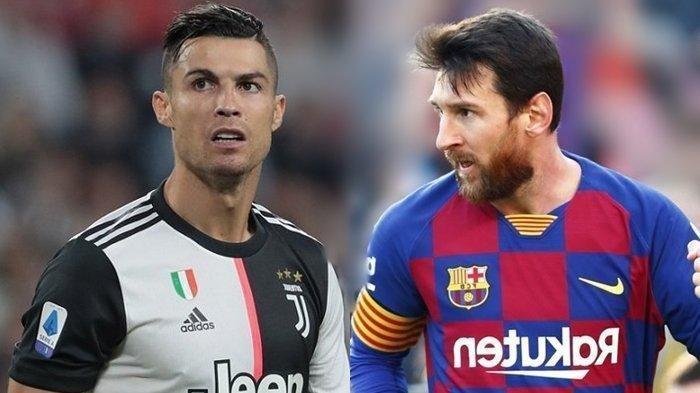 Hasil Drawing Liga Champions Musim 2021, Cristiano Ronaldo Juventus Bertemu Barcelona Lionel Messi