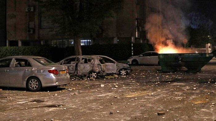 Israel Bakal Hancur Dari Dalam, Perang Saudara Sedang Dimulai, Sejumlah Kota Dibakar