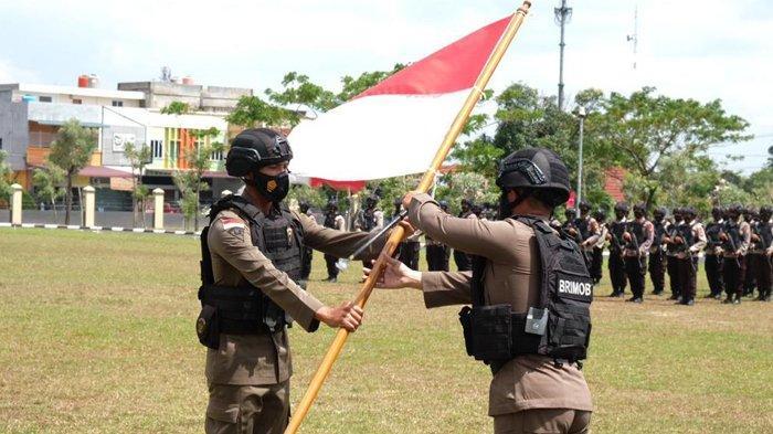 Kerusuhan Papua Berakhir, 100 Personel Brimob Polda Riau Kembali ke Pekanbaru, Bawa Cerita Patriotik
