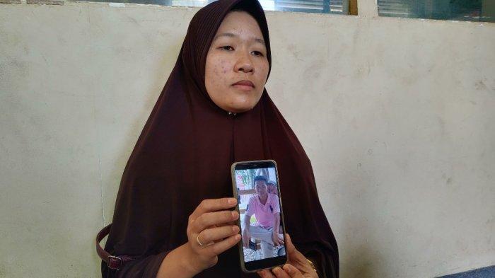 Kesedihan Elsa Suaminya 5 HariMenghilang,Mobil MalahDitemukan Terbakar di Kuok Riau