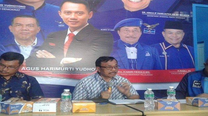 Soal Agenda KLB Partai Demokrat di Sibolangit, Begini Sikap Pengurus DPC Demokrat Pelalawan