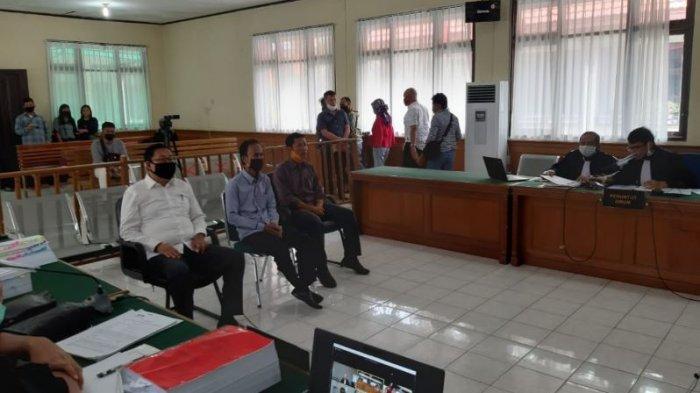 Jadi Saksi Dugaan Tipikor Bengkalis Hakim Bentak Ketua DPRD Riau Indra Gunawan Eet, Anda Ini Bengak!