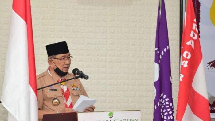 Ketua Kwarda Harapkan Dewan Kerja Susun Program Sesuai di Masa Pandemi Covid-19