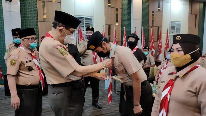 Kwarda Gerakan Pramuka Riau gelar Pelatihan Kehumasan