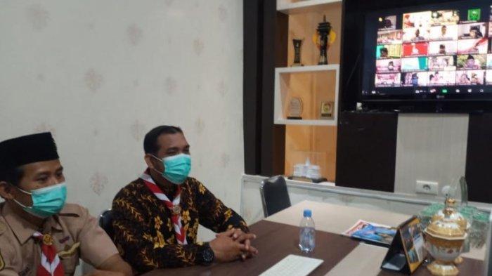 Bantu pencegahan Covid-19, Kwarda Riau terima penghargaan dari Kwarnas Gerakan Pramuka