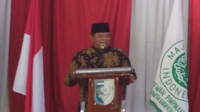 Ketua MUI Riau, Prof DR H Ilyas Husti MA.