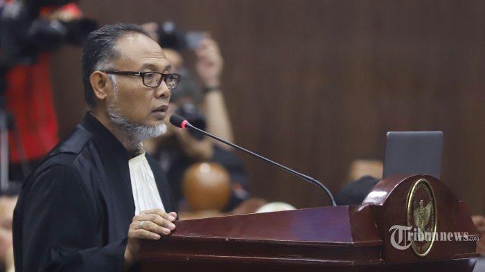 Sidang Sengketa Pilpres, Hakim: Pak Bambang Widjojanto Stop, Kalau Tidak Saya Suruh Keluar