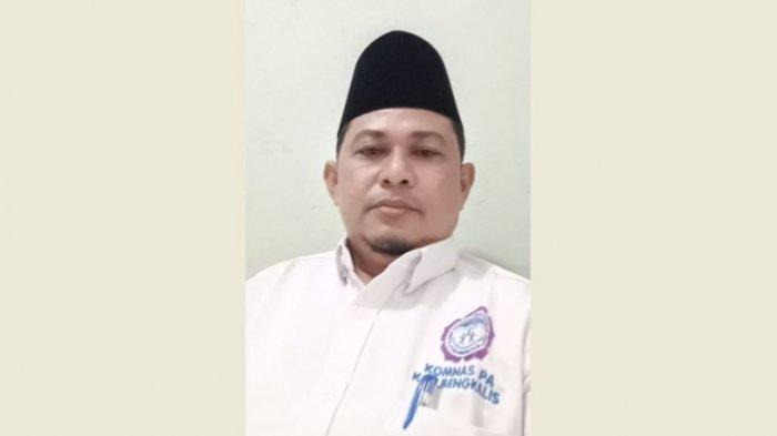 Ketua Komnas Perlindungan Anak Bengkalis Muhammad Isnaini