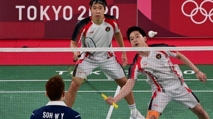 Peluang Tambahan Medali Indonesia di Badminton Pupus Usai Kekalahan Marcus Gideon/Kevin