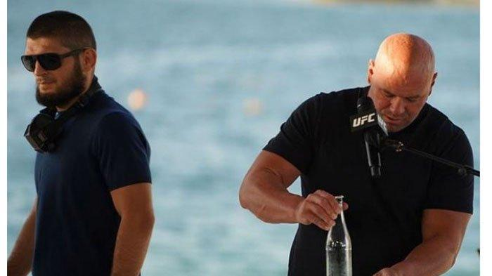 Peluang Khabib Nurmagomedov Comeback Semakin Kecil Usai Kekalahan McGregor Skenario Dana White Buyar