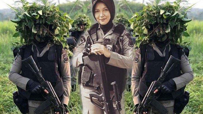 Kisah Anggota Pasukan Elite Polisi Miranti Silaban, Dulu Menangis karena Benci, Kini Cinta Brimob