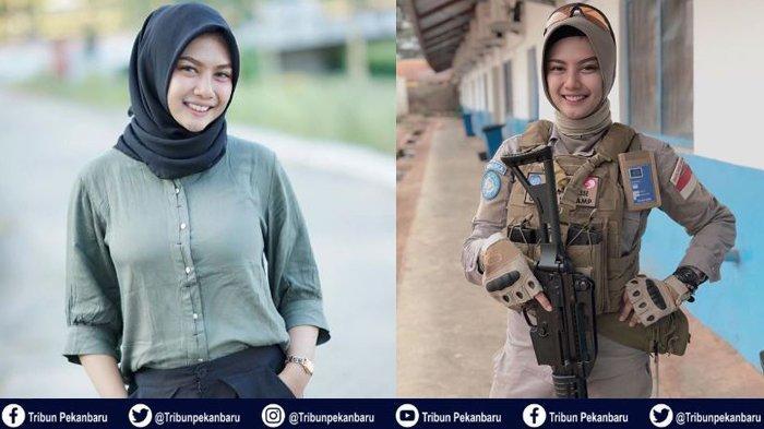 KISAH Polwan Cantik Indonesia Sedang Tugas di Afrika, Berulang Tahun ke-25, Ini Doa dan Ucapannya