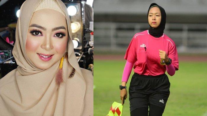 KISAH Sherly Putri Yandani, Wasit Sepakbola Nasional Pertama dari Riau, Pimpin Laga Timnas U-16