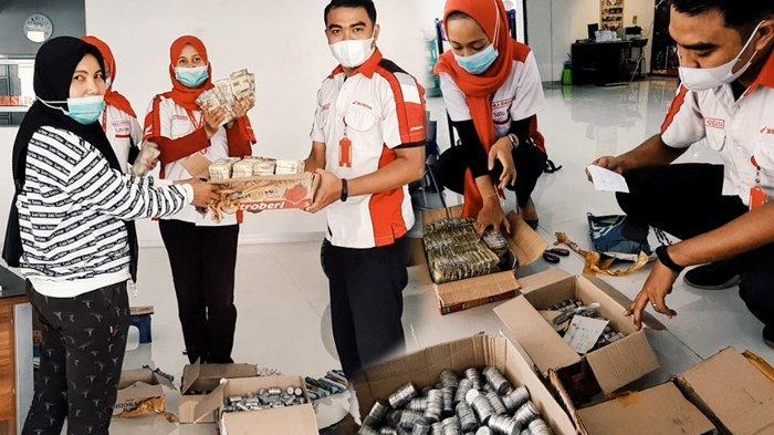 Kisah Unik Mama Muda di Riau Beli Motor Pakai Uang Koin Hasil Menabung, Tak Ada yang Tak Mungkin