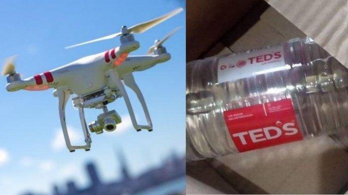 Fera Kaget Buka Paket Kiriman, Pesan Drone yang Datang Air Mineral, Kisahnya Jadi Viral