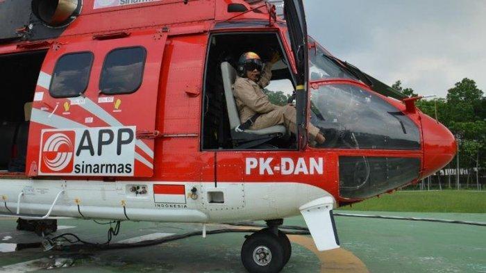 Kisah Pilot Water Bombing Senior di Riau, 39 Kali Ramadan Menanggung Rindu dengan Keluarga