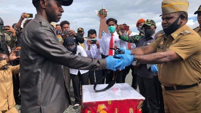 Jelang 1 Juli, Pengamanan Diperketat, Polda Jabar Kirim 96 Personel Brimob ke Papua, Antisipasi KKB