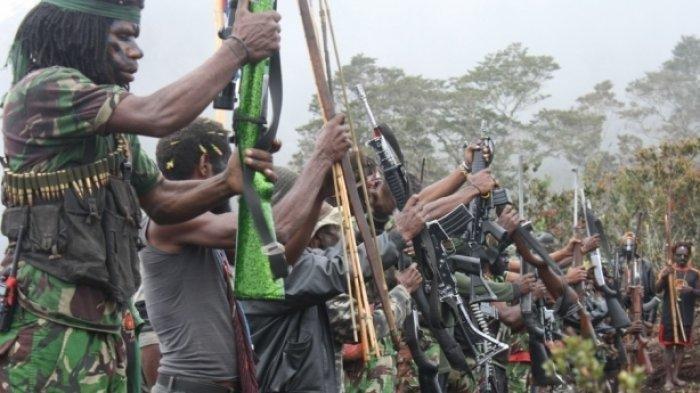 TNI Tembak Ayah dan Anak Terduga KKB, Keduanya Tewas, Pistol Revolver dan Sejumlah Uang Diamankan