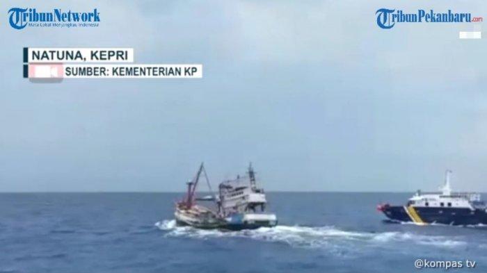 Kapal Perang China Pergi Dari Natuna, Penjaga Vietnam Pun Datang