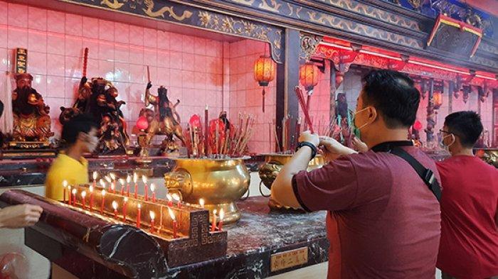 Imlek Hanya Ibadah, Ini yang Dilakukan Warga Tionghoa Dumai Sambut Tahun Kerbau Logam