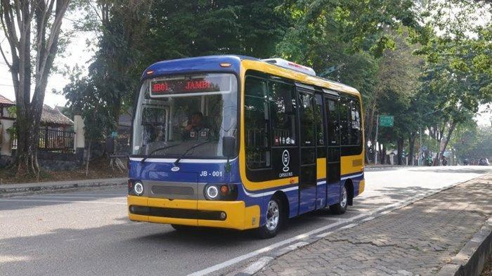 Diklaim Pertama di Indonesia, Kota Jambi Akan Operasikan Capsule Bus Berbasis Aplikasi