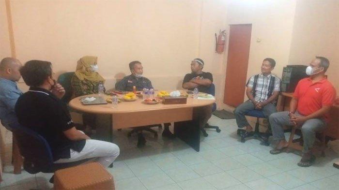 Bentuk Badan Koordinasi Humas, KPU Pekanbaru Gandeng AMSI Riau