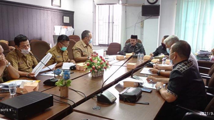 Hearing Komisi II DPRD Pekanbaru dengan Disperindag, Bahas R-APBD 2022