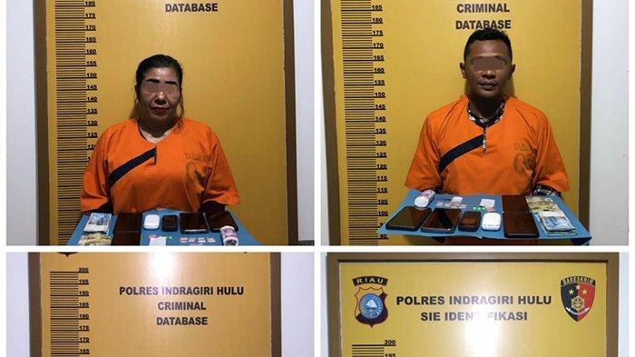 Simpan Sabu di Kotak Permen, Polisi Kembali Bekuk Keluarga Gembong Narkoba Mak Gadi di Inhu