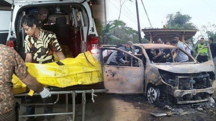 Kronologi Istri Muda Bunuh Suami dan Anak Tiri Hingga Mayatnya Dibakar di Mobil, Motifnya Terungkap