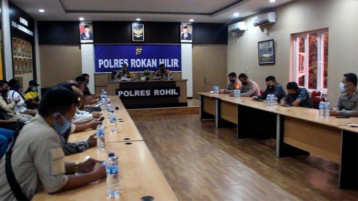 Sepanjang Tahun 2020, Kasus Narkoba Masih Mendominasi di Wilayah Polres Rohil, Lakalantas Menurun