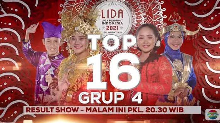 Konser Result Show Top 16 Grup 4 LIDA 2021, Siapa yang Tersenggol