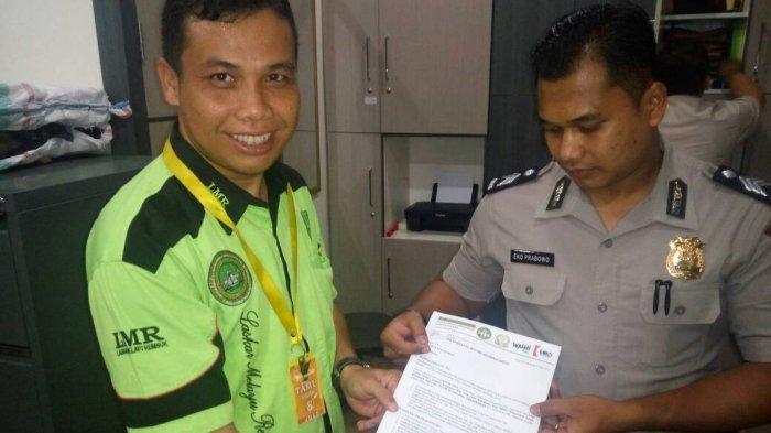 Kopel Laporkan PT IKPP ke Polda Riau