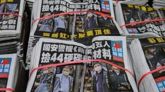 Pemerintah China Tangkap Pejabat Media Di Hong Kong, Diduga Berkonspirasi Dengan Asing