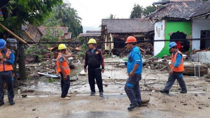 Update Korban Tsunami Banten, 29 Karyawan PLN Meninggal Tewas, 13 Masih Hilang