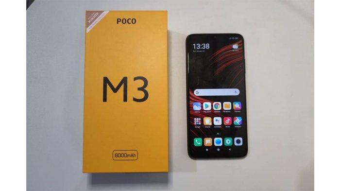 Sudah Resmi di Indonesia, Poco M3 Dijual Rp 2,3 Juta untuk Varian 6 GB/128 GB