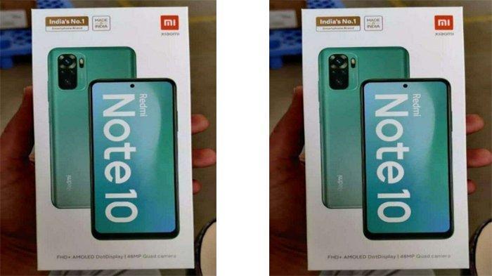 Resmi 4 Maret dan Masuk ke Indonesia, Redmi Note 10 Bakal Punya Layar Jenis AMOLED