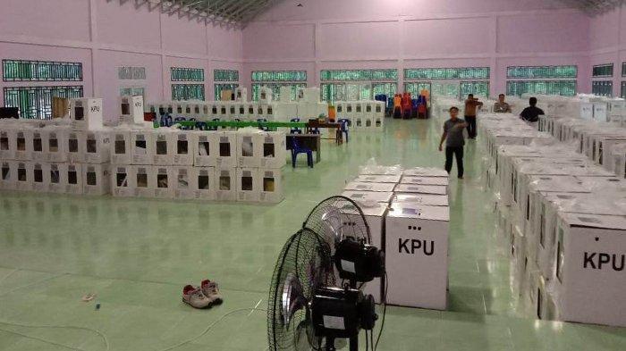 Kotak Suara Seluruh TPS di Bengkalis Riau Telah Bergeser ke Seluruh PPK, Tunggu Pleno Kecamatan