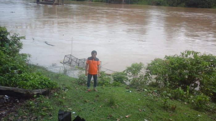 Kepala KPBD Inhu Sebut Air Sungai Indragiri Sulit Surut Karena Pasang di Daerah Inhil