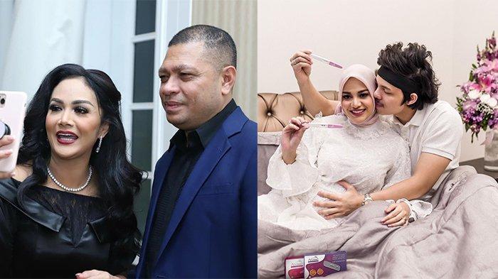 Doa Haru Krisdayanti atas Kehamilan Aurel Hermansyah, Raul Lemos Beri Komentar Manis