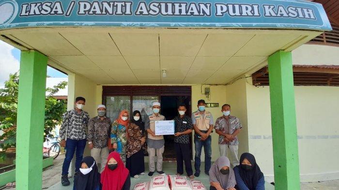 YBM PLN UIP Sumbagteg Salurkan Bantuan ke Panti Asuhan dan Pondok Pesantren di Tembilahan Inhil