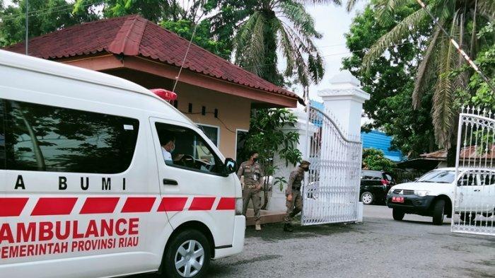 Kunjungan Jokowi ke Riau, Akses Menuju Gedung Daerah Dijaga Ketat Jelang Kedatangan Presiden
