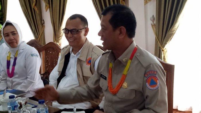 Kunjungi Mentawai Kepala BNPB Doni Monardo Sarankan Cara Kurangi Dampak Risiko Bencana Daerah