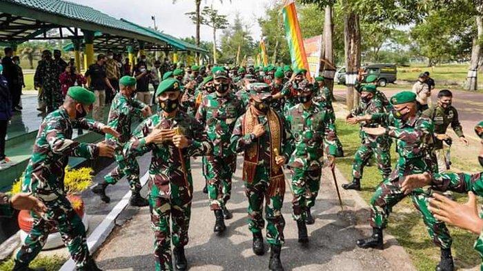 Pangdam I/BB Melakukan Kunjungan Kerja ke Mako Batalyon 132/BS