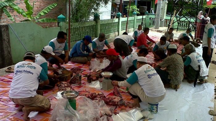 Cegah Kerumunan Hindari Covid-19, Pendistribusian Daging Kurban di Pekanbaru Bakal Diantar Panitia