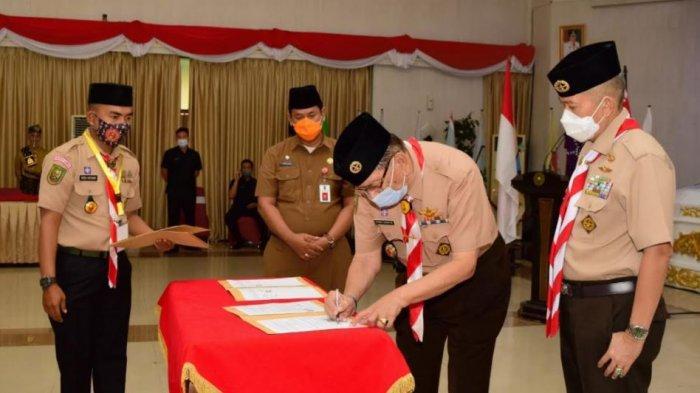 Susun Program Kerja 2021 : Kwarda Riau selenggarakan Rapat Kerja Daerah Riau tahun 2020