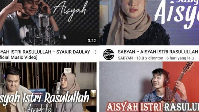 Jadi TRENDING di Youtube, TERNYATA Begini Pro Kontra  Lirik Lagu Aisyah Istri Rasulullah