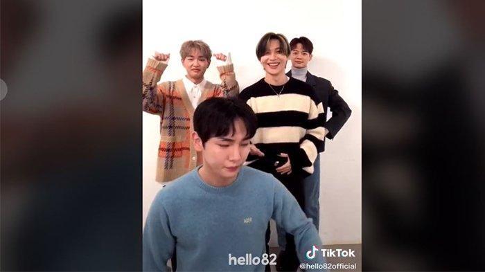 Lagu Terpesona Tik Tok Sampai ke Korea, Kocaknya SHINee Goyang Terpesona Lagu DJ Viral Tik Tok