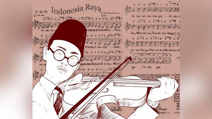 KUMPULAN Lagu Perjuangan: Download Lagu Indonesia Raya 3 Stanza