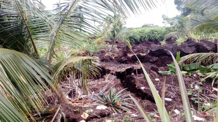 BPBD Meranti Imbau Warga di Sekitar Pantai Waspada